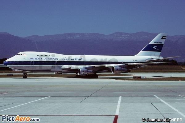 Boeing 747-269B(SF)  (Kuwait Airways)