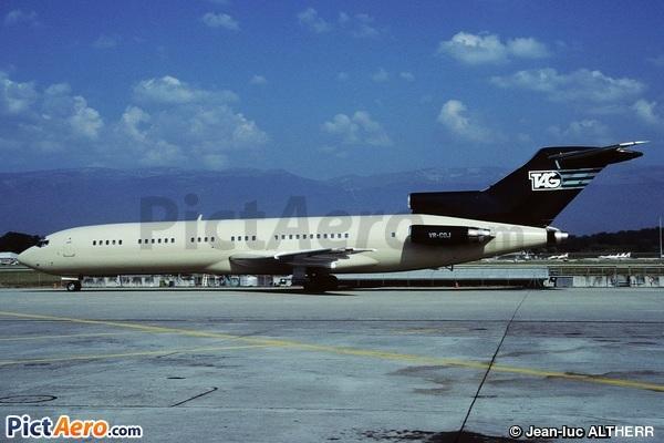 Boeing 727-212 Adv(RE) Super 27 (TAG Aeronautics)