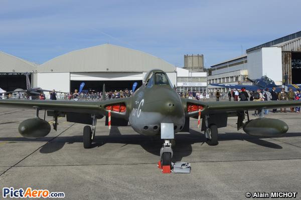 De Havilland Vampire FB.6 (DH-100) (Cercle de chasse de Nangis)