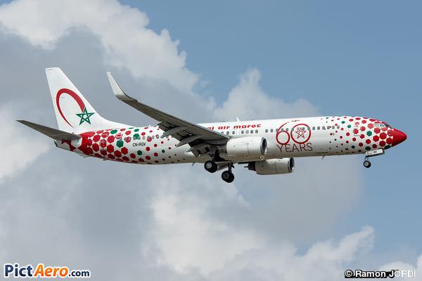 Boeing 737-85P/WL (Royal Air Maroc (RAM))