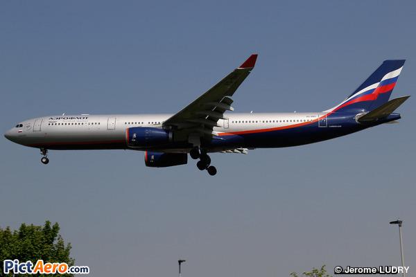 Airbus A330-343E (Aeroflot)
