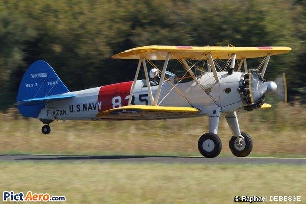 Boeing PT-27 Kaydet (Association France's Flying Warbirds)