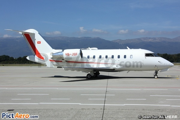 Canadair CL600-2B16 Challenger 650 (Private)