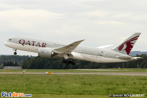 Boeing 787-8 Dreamliner (Qatar Airways)