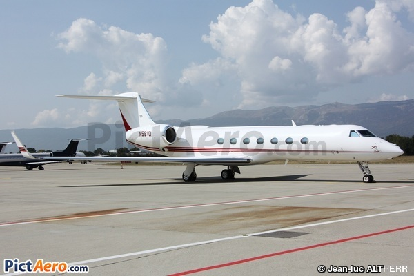 Gulfstream Aerospace G-550 (G-V-SP) (Bank of America Leasing & Capital Inc)