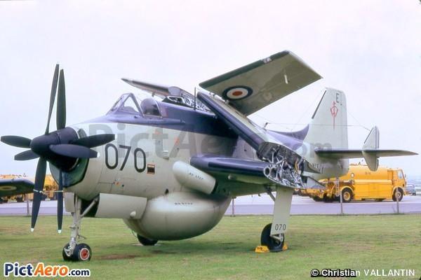 Fairey Gannet AEW.3 (Fleet Air Arm Museum)