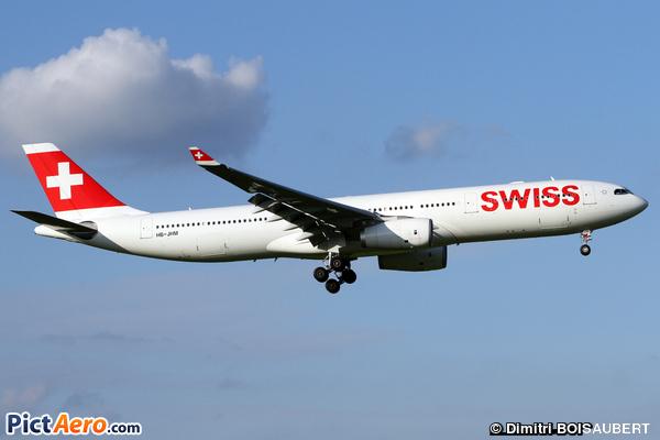 Airbus A330-343E (Swiss International Air Lines)