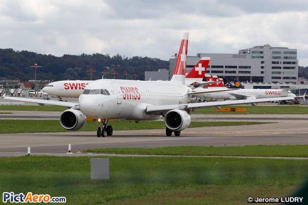 Airbus A320-214 (Swiss International Air Lines)