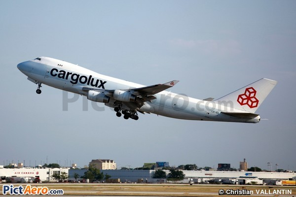 Boeing 747-467/F/ER/SCD (Cargolux Airlines International)