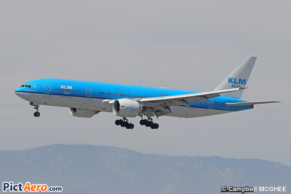 Boeing 777-206/ER (KLM Royal Dutch Airlines)