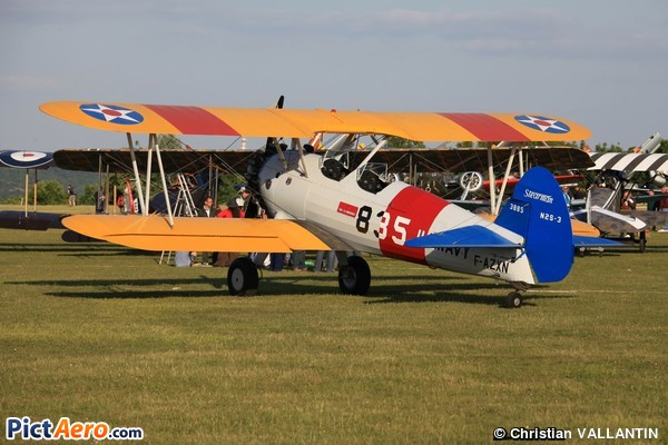 Boeing PT-27 Kaydet (Association France's Flying Warbirds)