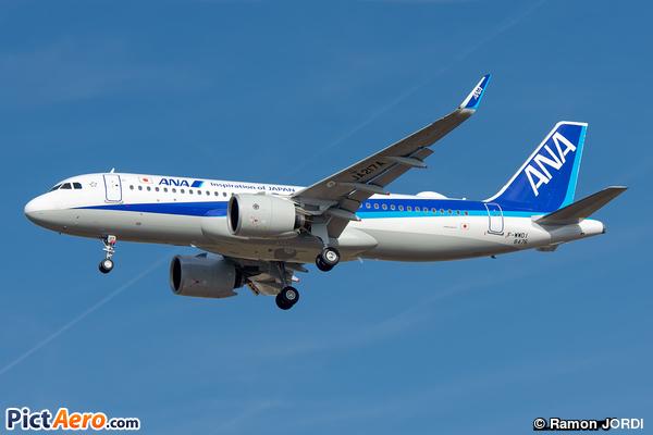 Airbus A320-271N (All Nippon Airways)