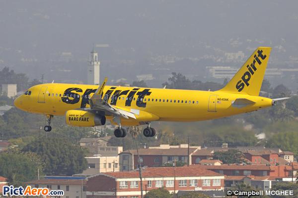 Airbus A320-232/SL (Spirit Airlines)