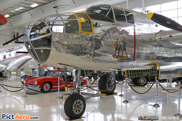 North American B-25J Mitchell (Lyon Air Museum, Santa Ana, CA)