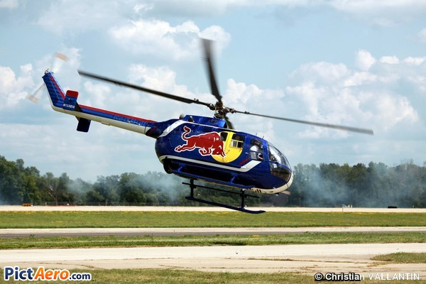 MBB Bo-105CBS-4 (Red Bull North American Inc)
