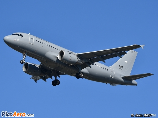 Airbus A319-112 (Hungary - Air Force)