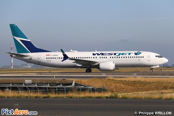 Boeing 737-8 Max (WestJet Airlines)