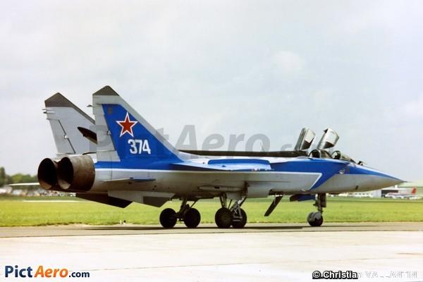 MiG-31 Foxhound (Russian Fédération Air Force)