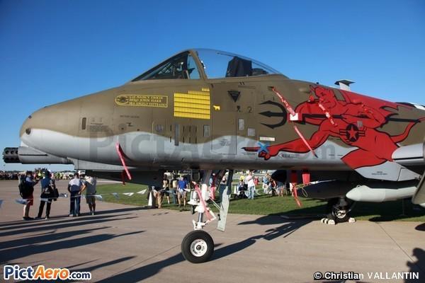 Fairchild A-10C Thunderbolt II (United States - Air National Guard)