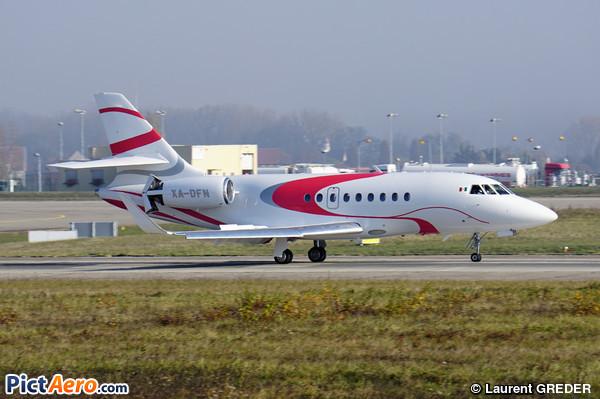 Dassault Falcon 2000LXS (Private / Privé)