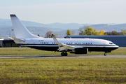 Boeing 737-7EJ/BBJ (P4-SRN)