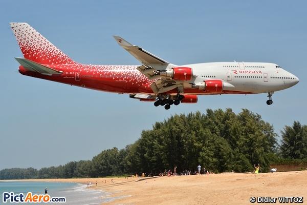 Boeing 747-446 (Rossiya - Russian Airlines)