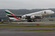 Airbus A380-861 (A6-EUA)