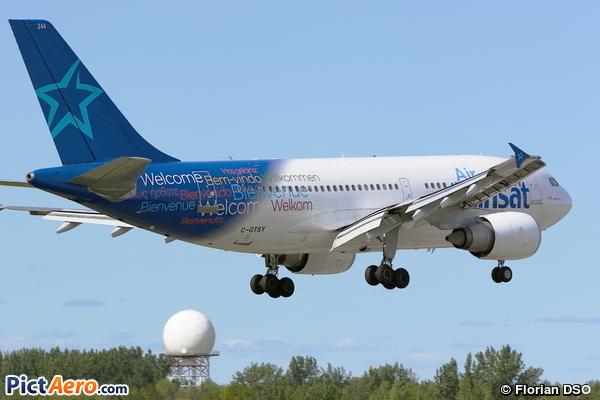 Airbus A310-304 (Air Transat)