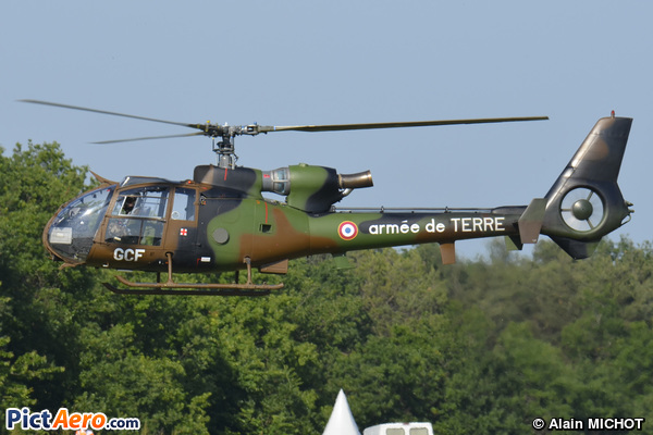 Aérospatiale SA-342M Gazelle (France - Army)