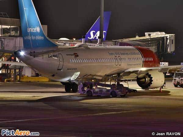 Boeing 737-8MAX (Norwegian Air Shuttle)