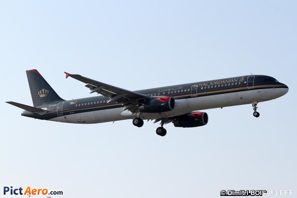 Airbus A321-231 (Royal Jordanian)