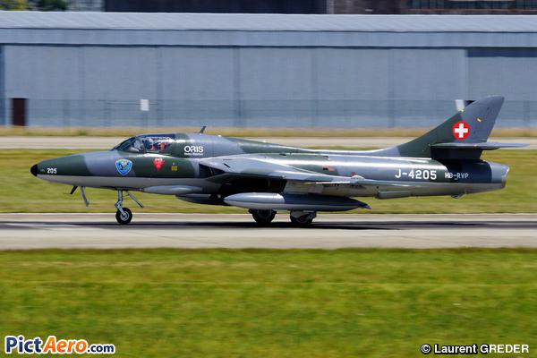 Hawker Hunter T.MK. 68 (Verein Flieger Museum Altenrheim)