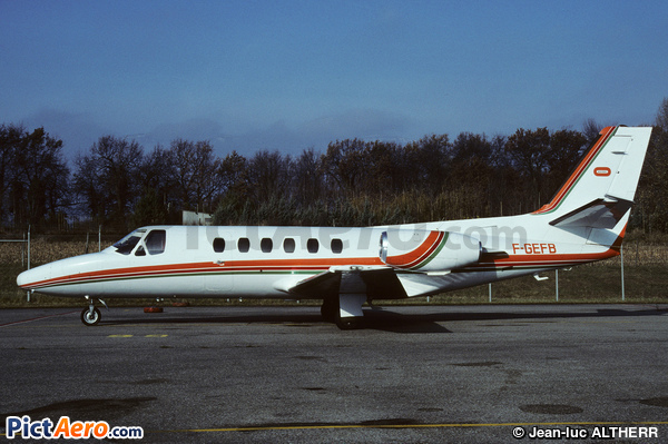 Cessna 550 Citation II  (Groupement International de Commerce et d'Equipement)