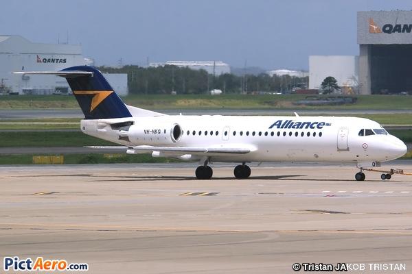 Fokker 70 (F-28-0070) (Alliance Air)