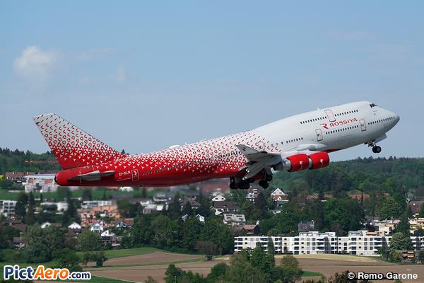 Boeing 747-412 (Rossiya - Russian Airlines)
