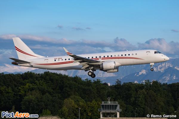 Embraer Lineage 1000 ERJ-190-100-ECJ (Falcon Aviation Services)
