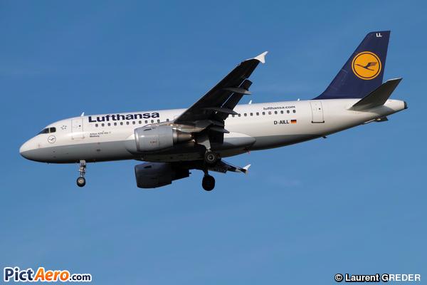 Airbus A319-114 (Lufthansa)