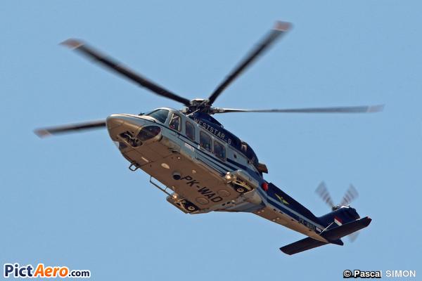 Agusta Westland AW-139 (Weststar Aviation Indonésia)