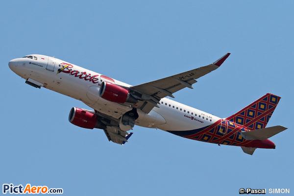 Airbus A320-214/WL (Batik Air)
