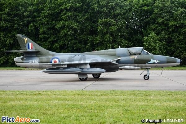 Hawker Hunter T7B (United Kingdom - Royal Air Force (RAF))