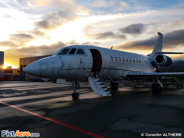 Dassault Falcon 2000LX (Jet Aviation Business Jets AG)