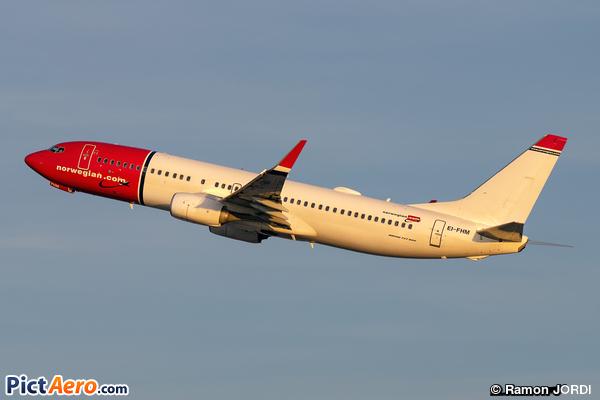 Boeing 737-8JP/WL (Norwegian Air International)