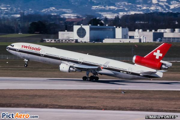 McDonnell Douglas MD-11P (Swissair)