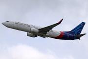 Boeing 737-8BK/WL (PK-CMS)