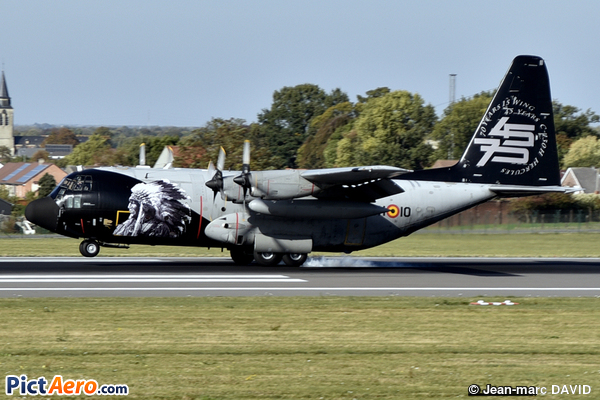 Lockheed C-130H Hercules (L-382) (Belgium - Air Force)