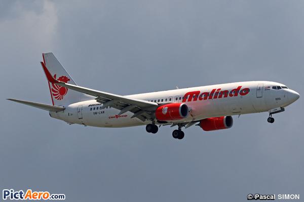 Boeing 737-8GP/WL (Malindo Air)