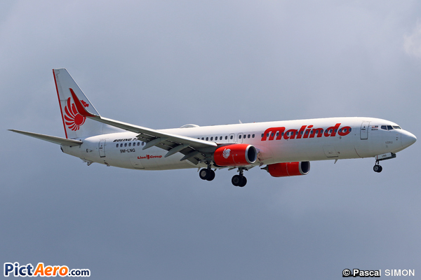 Boeing 737-9GP/ER (Malindo Air)