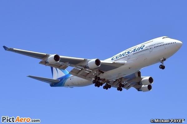 Boeing 747-422 (Corsair International)