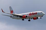 Boeing 737-8GP/WL (PK-LKT)