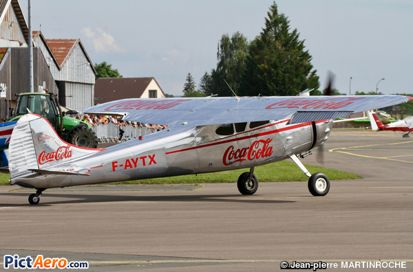 Cessna 195 (Foug'Air Association)